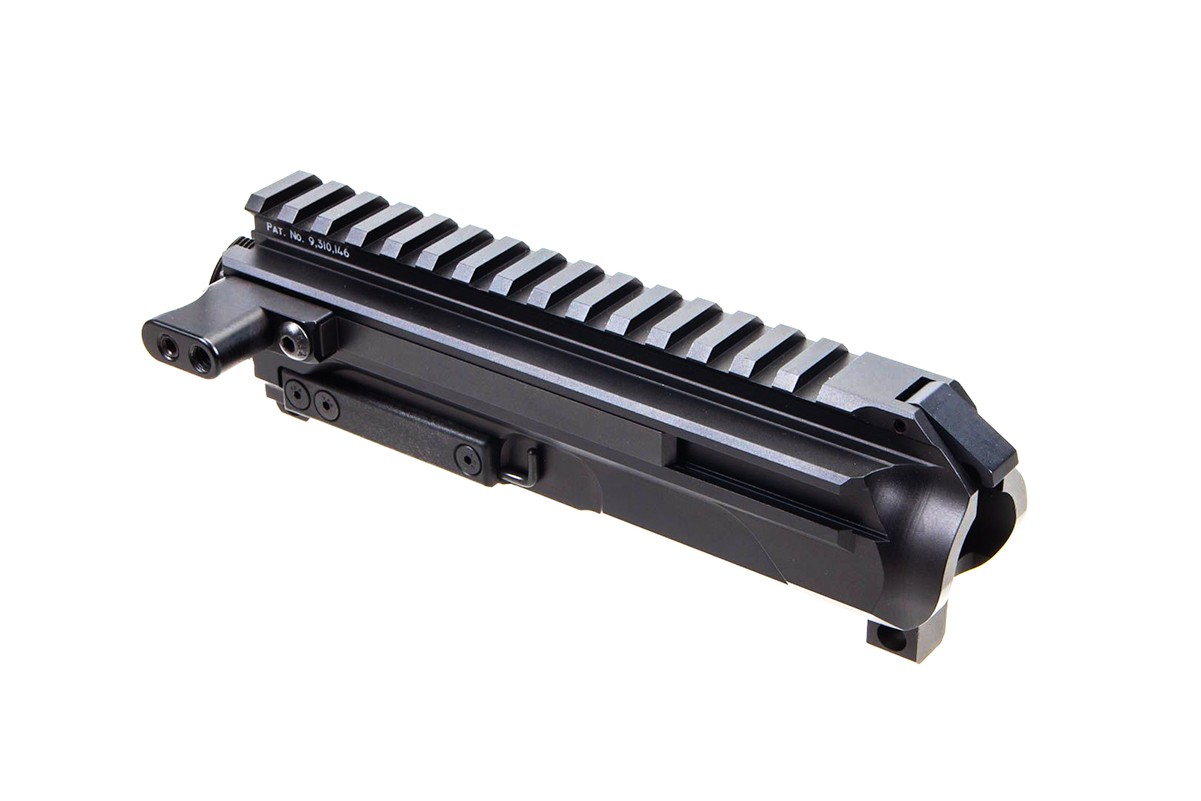 New Frontier Pistol Caliber Billet AR-9/45 Side Charging Upper with LRBHO