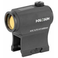 Holosun Elite Paralow Solar Powered 2 MOA Green Dot Sight