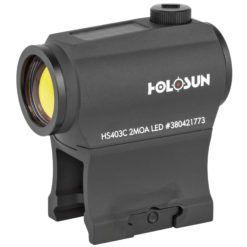 Holosun Paralow Solar Powered 2 MOA Red Dot Sight
