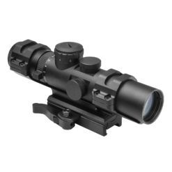 NcStar XRS Series 2-7×32 Scope w/ Modular Upper Scope Rings & Convertible Base Mount