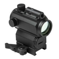 Vism 1x 25mm Micro Red/Blue Reflex Dot Sight, w/Integrated Laser, 3 MOA Dot Size
