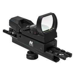 NcStar Combo/Carry Handle Adapter Red And Green Reflex Sight w/ 4 Reticles