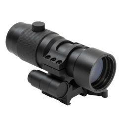 NcStar 3X Magnifier w/Flip to Side QR Mount Magnification