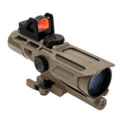 VISM Ultimate Sighting System Gen3 3-9×40 Riflescope – Green Lens /Tan