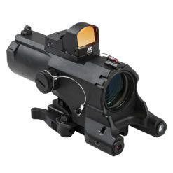 VISM ECO 4XScope/Laser & NAV LED/Micro Red Dot
