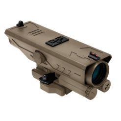VISM Delta 4X30mm Fixed Magnification Riflescope – FDE