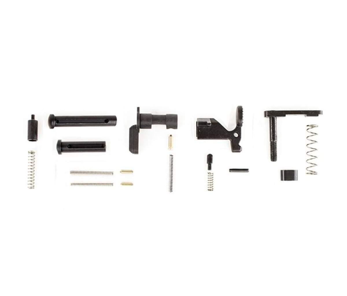 Aero Precision - AR-15 Lower Parts Kit, Minus FCG/Trigger Guard/Pistol Grip