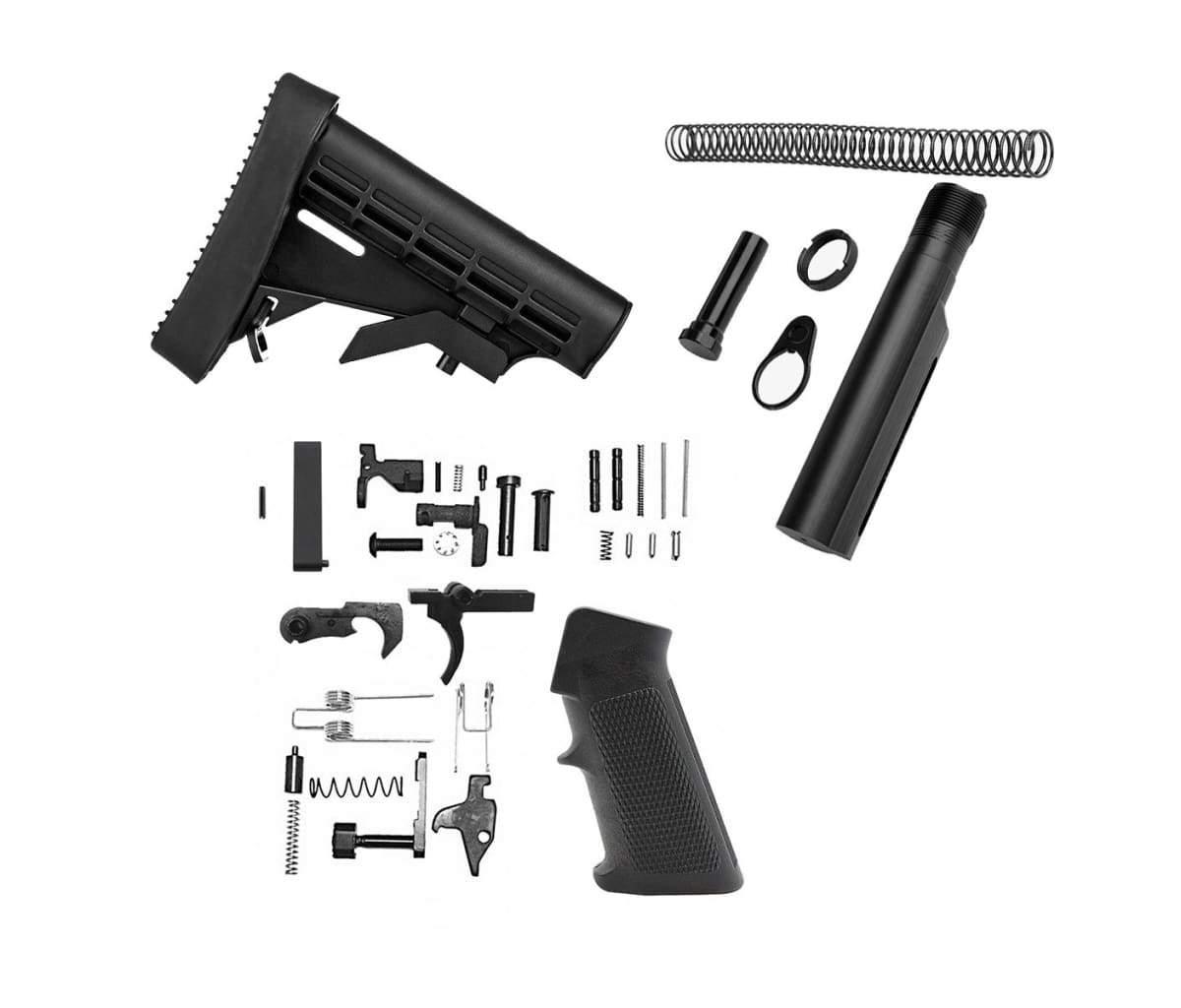 Discount Mil-Spec AR-15 Lower Build Kit