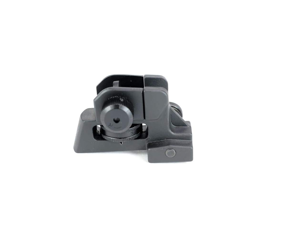 NBS Low Profile Detachable Rear Iron Sight w/ Dual Aperture and Elevation  Adjustments - AR15Discounts