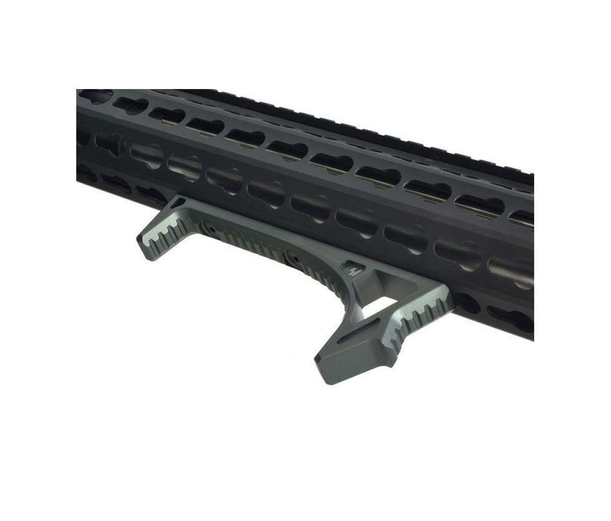 Front Grip LINK Curved Angled Foregrip Metal For KeyMod M-lok Handguard Rail