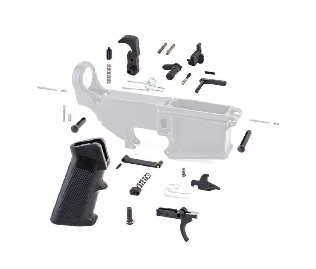 Tiger Rock AR-15 Lower Parts Kit w/ Standard Grip & Trigger Guard